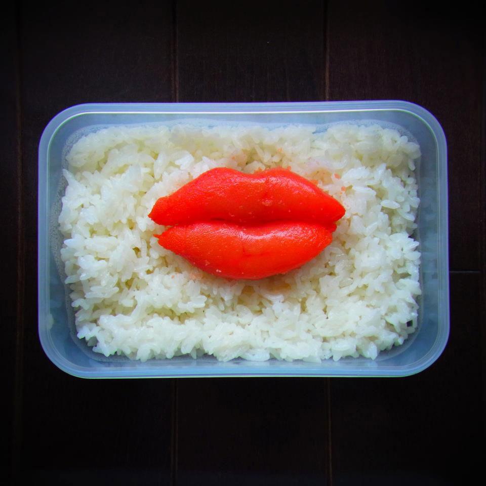bento art lips