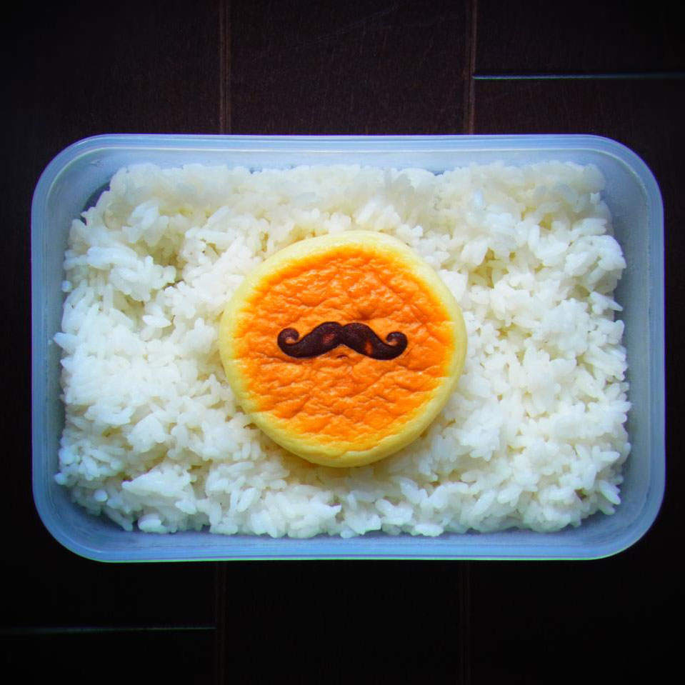 bento art moustache