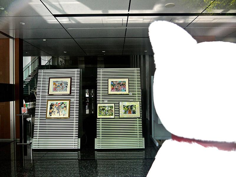 museum gallery at shueisha