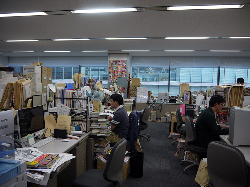 inside the shueisha offices