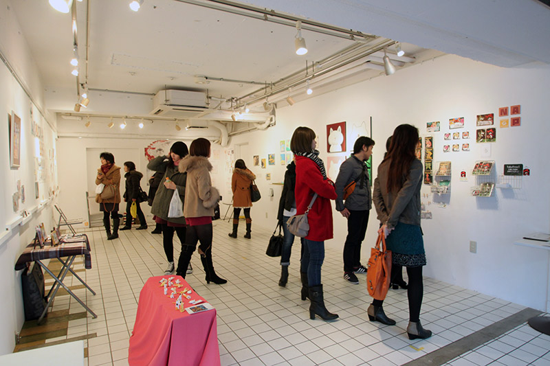 inside the design festa gallery art