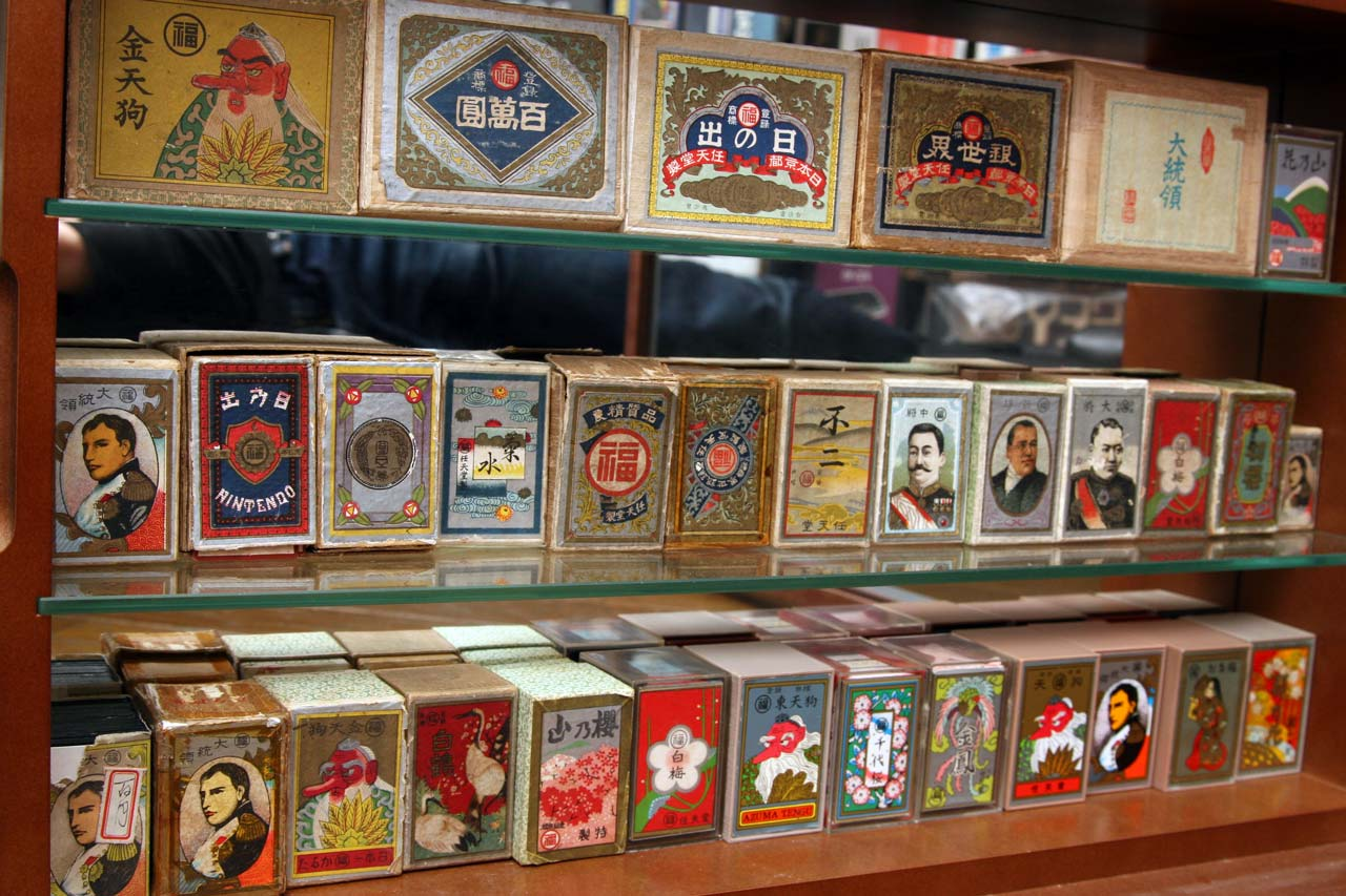 large collection of nintendo playing cards