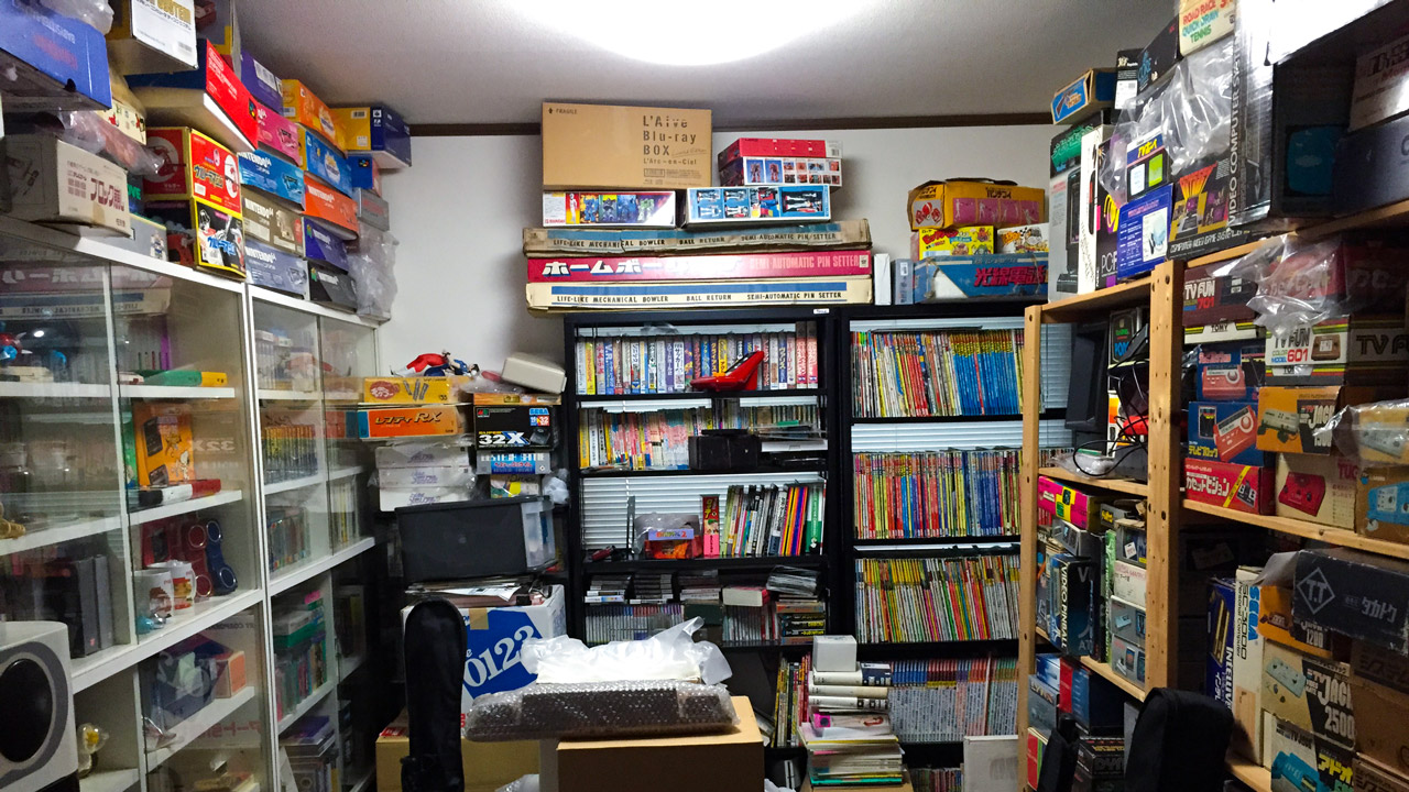 isao yamazaki nintendo collection room