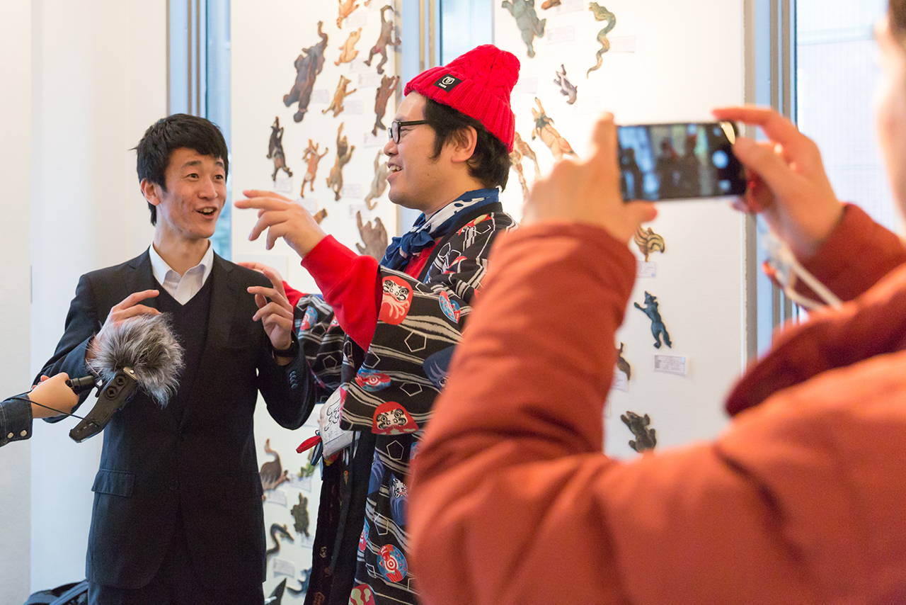 Interview with Ryohei Matsumoto who invited Homeless Kotani to view his art gallery
