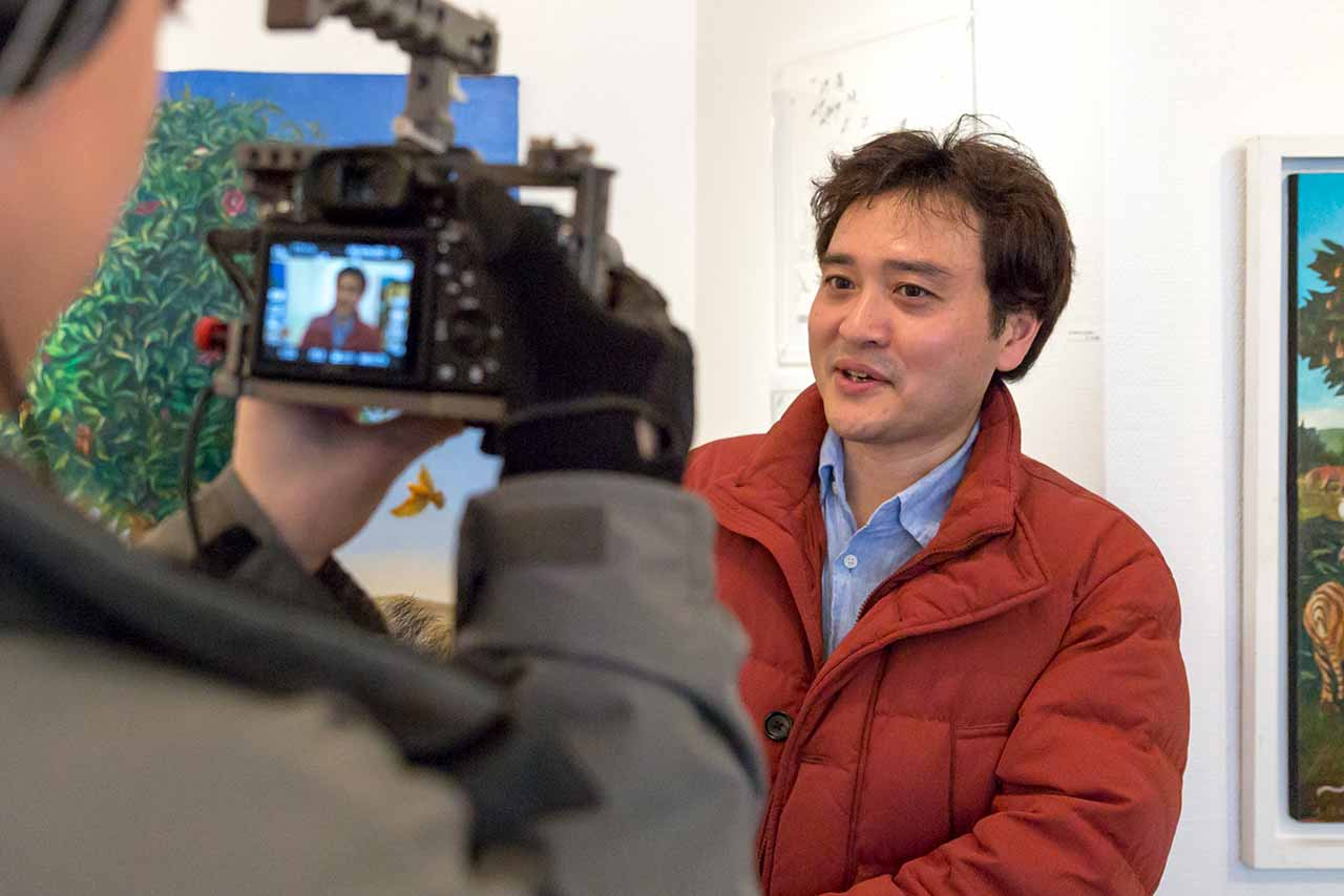 Interview with Yamaji who is writing a book about Homeless Kotani