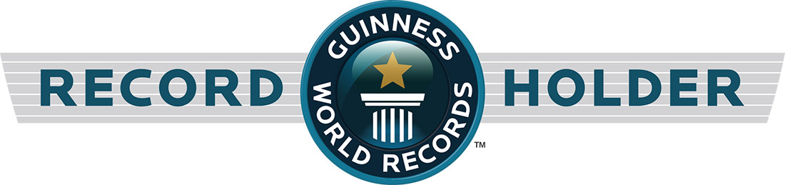 the logo for the guinness world record