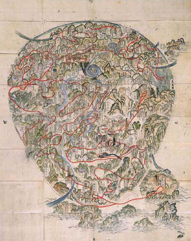 Japanese Cartography The First Time Japan Saw The World
