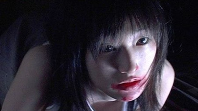 undead girl from weird japanese movies