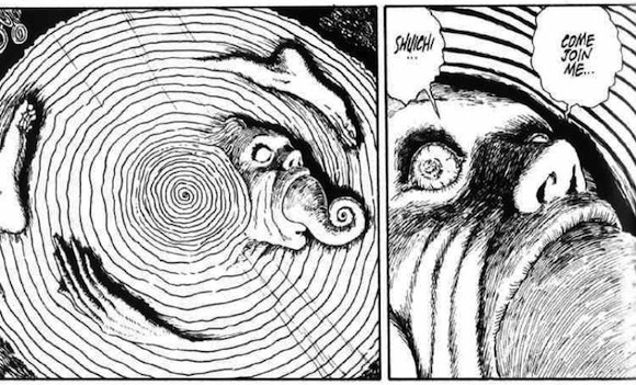 horror manga spiral monster