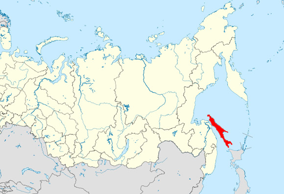 a map of sakhalin