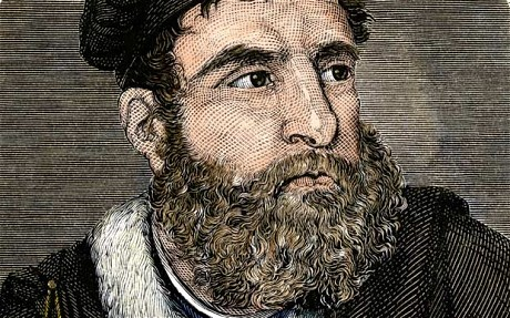 portrait of Italian explorer marco polo