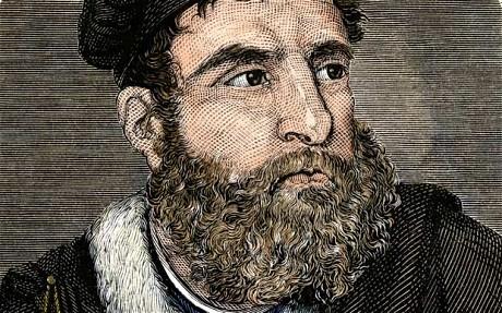portrait of Italian explorer marco polo