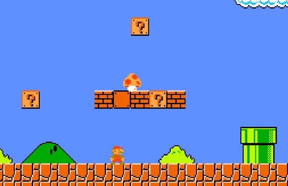 nintendo video game mario