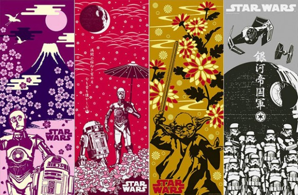 Japanese posters for Star Wars