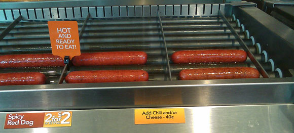 convenience store hot dogs