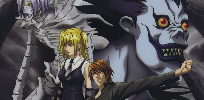 the cast of the deathnote anime embody japanese superstitions