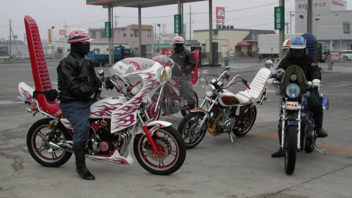 bosozoku custom motorcycles