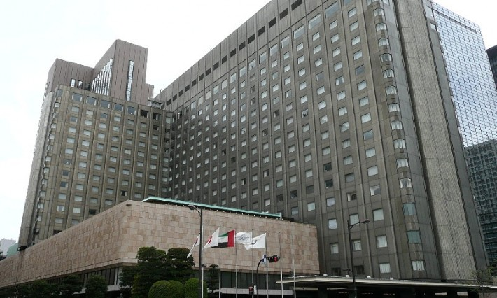 The exterior of the modern Imperial Hotel
