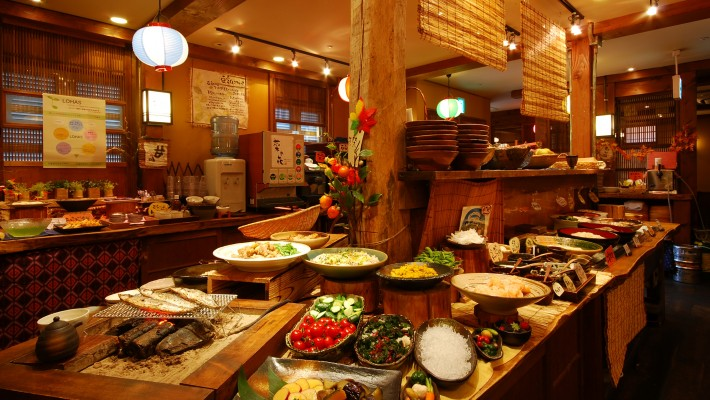 Viking buffets in japan for Buffet cuisine