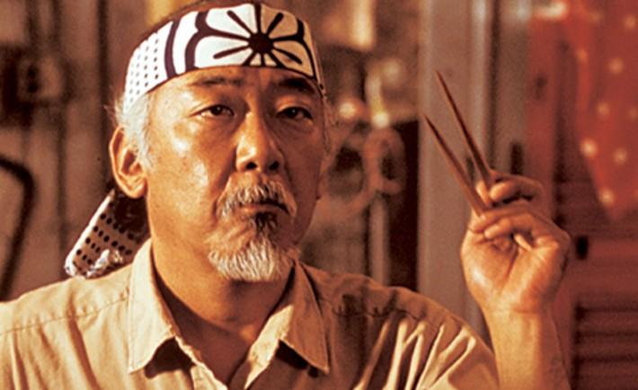 Mr. Miyagi from Karate Kid