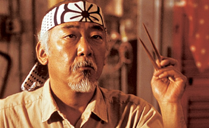 Mr. Miyagi from Karate Kid