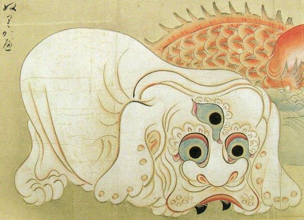 tourin kanou nurikabe painting