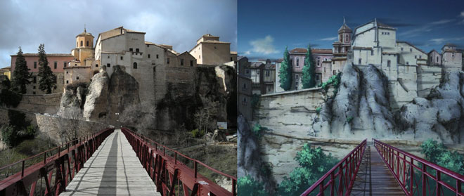 side by side comparison of cuenca and sound of the sky
