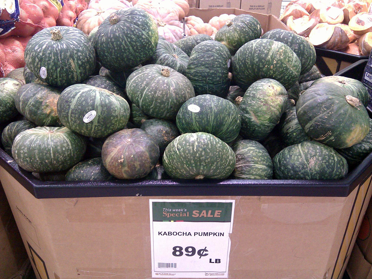 kabocha on sale