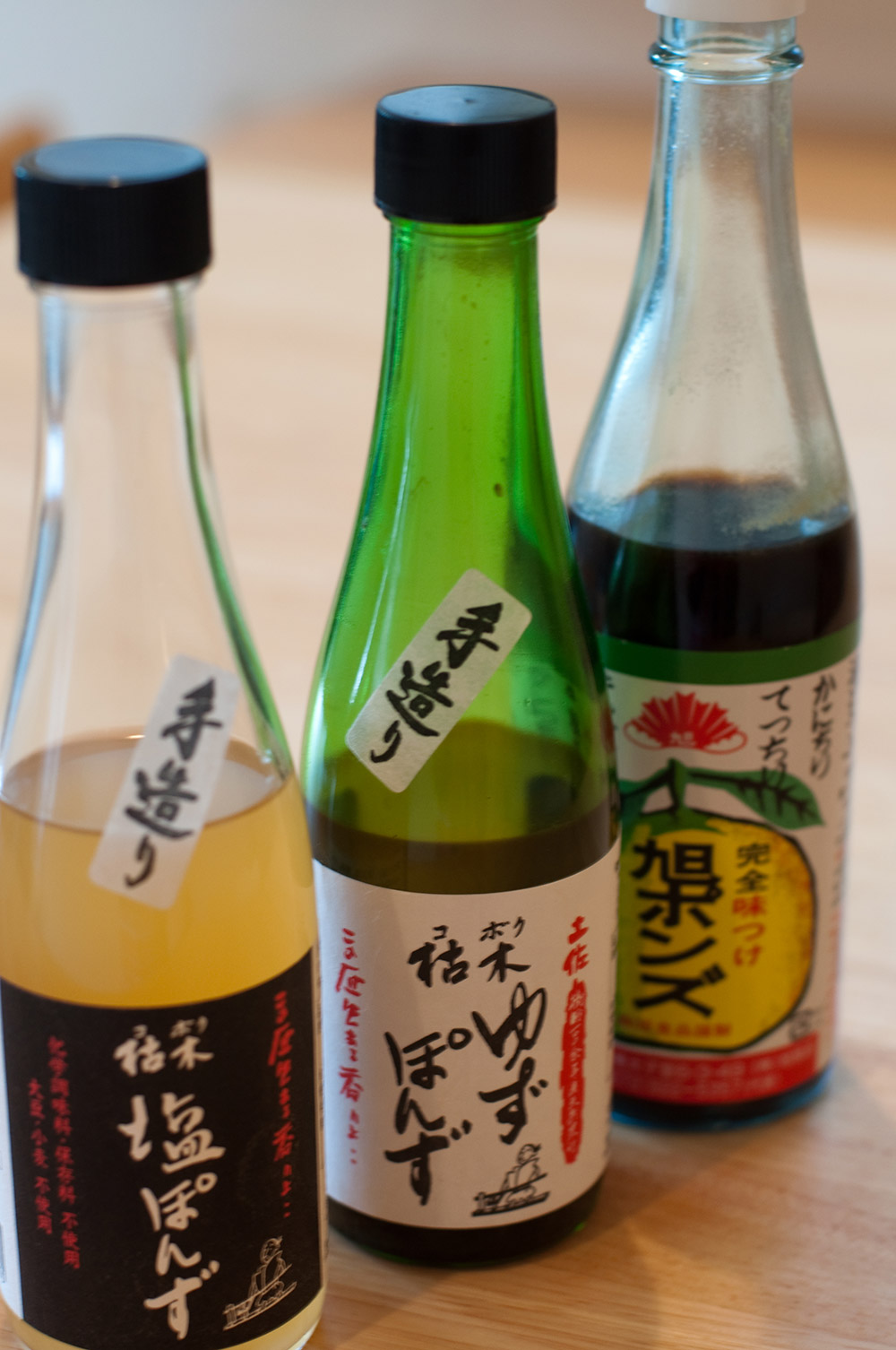 japanese ponzu sauces
