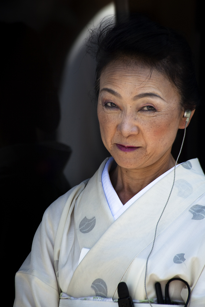 japanese lady judging you
