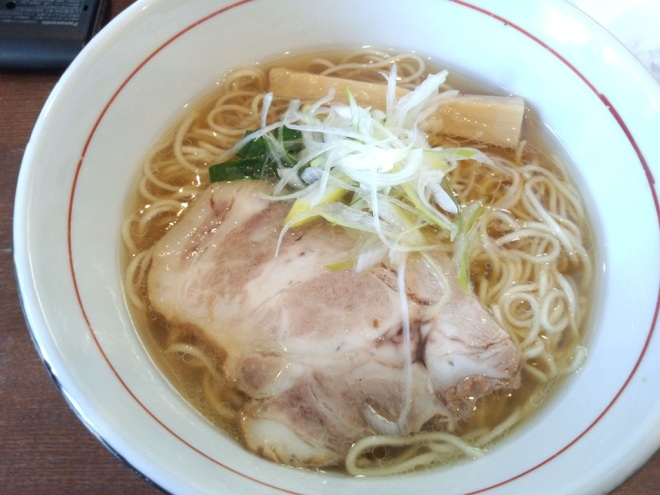 A bowl of Shio ramen