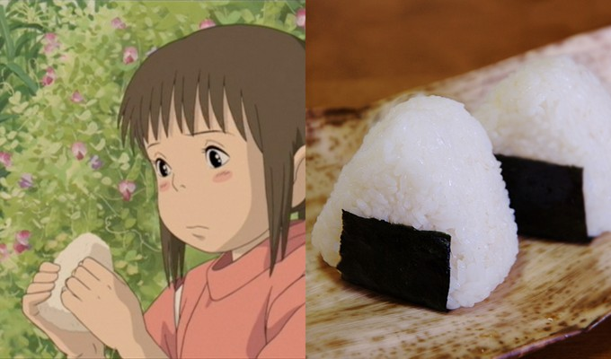 onigiri collage