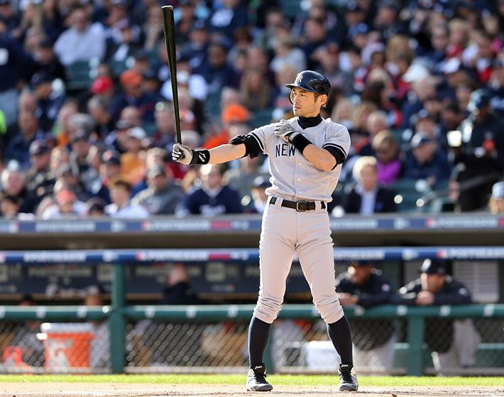 ichiro suzuki at bat