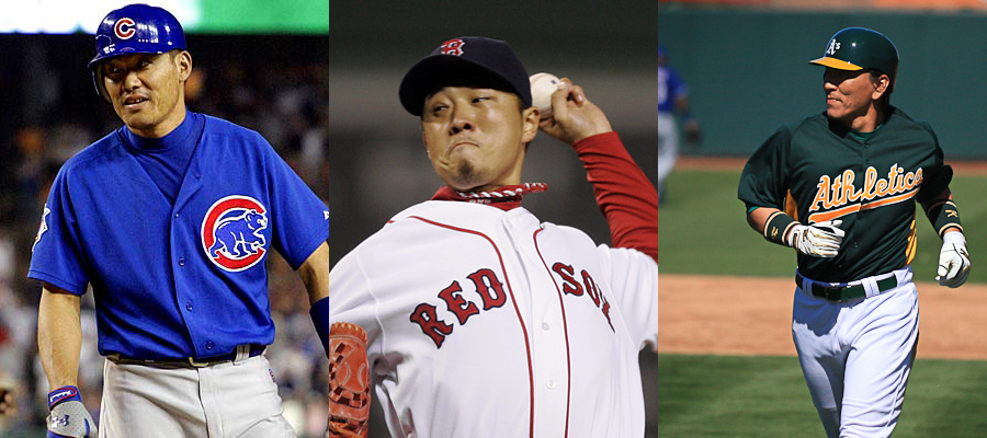 Japanese players in the MLB