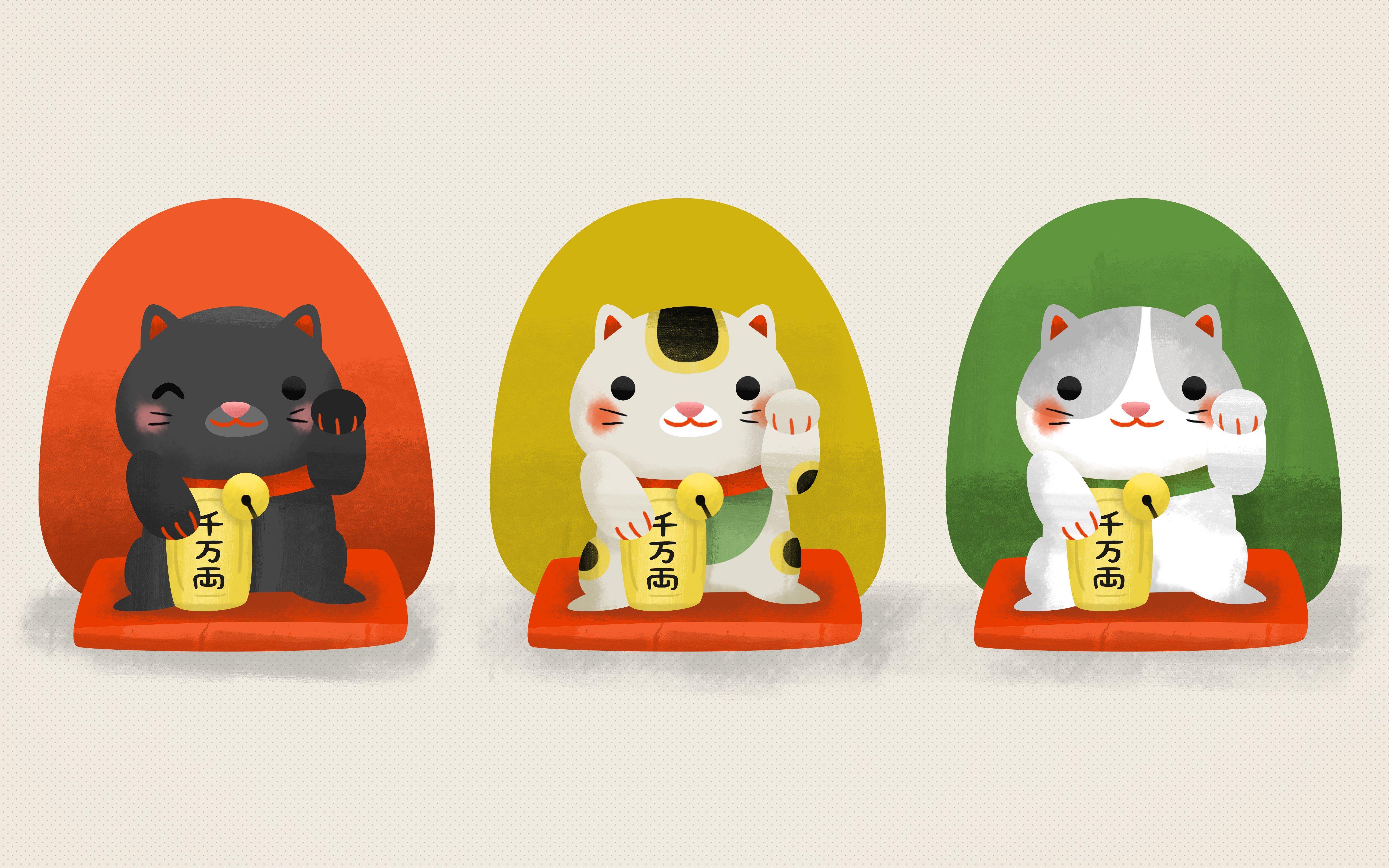 Maneki Neko Japans Lucky Cat