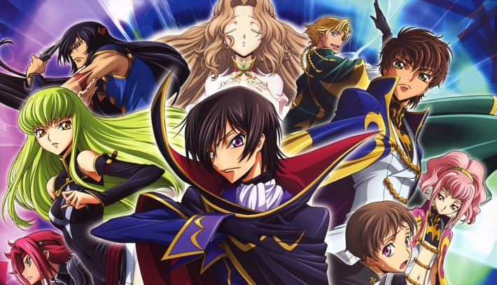 anime Code Geass main characters