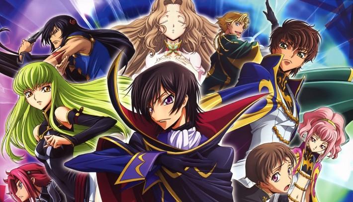 anime Code Geass main characters