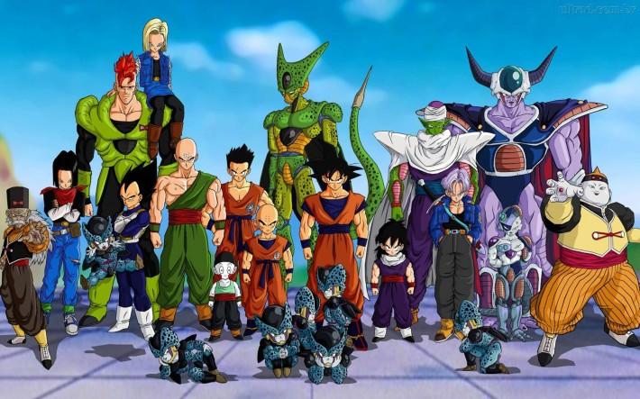 Dragon Ball Z Anime Characters : John s top anime series