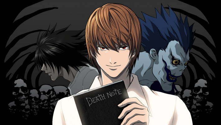 anime Death Note main characters