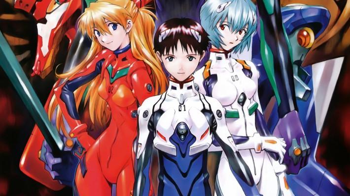 anime Evangelion main characters