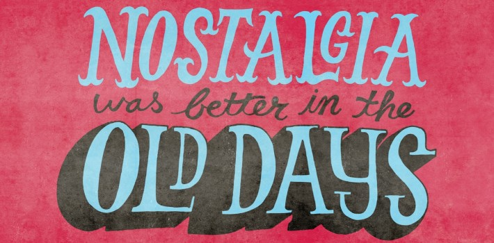 ironic nostalgia poster