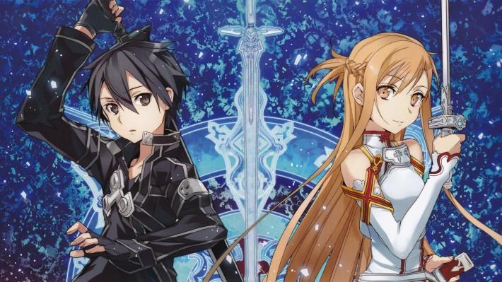 protagonists of Sword Art Online
