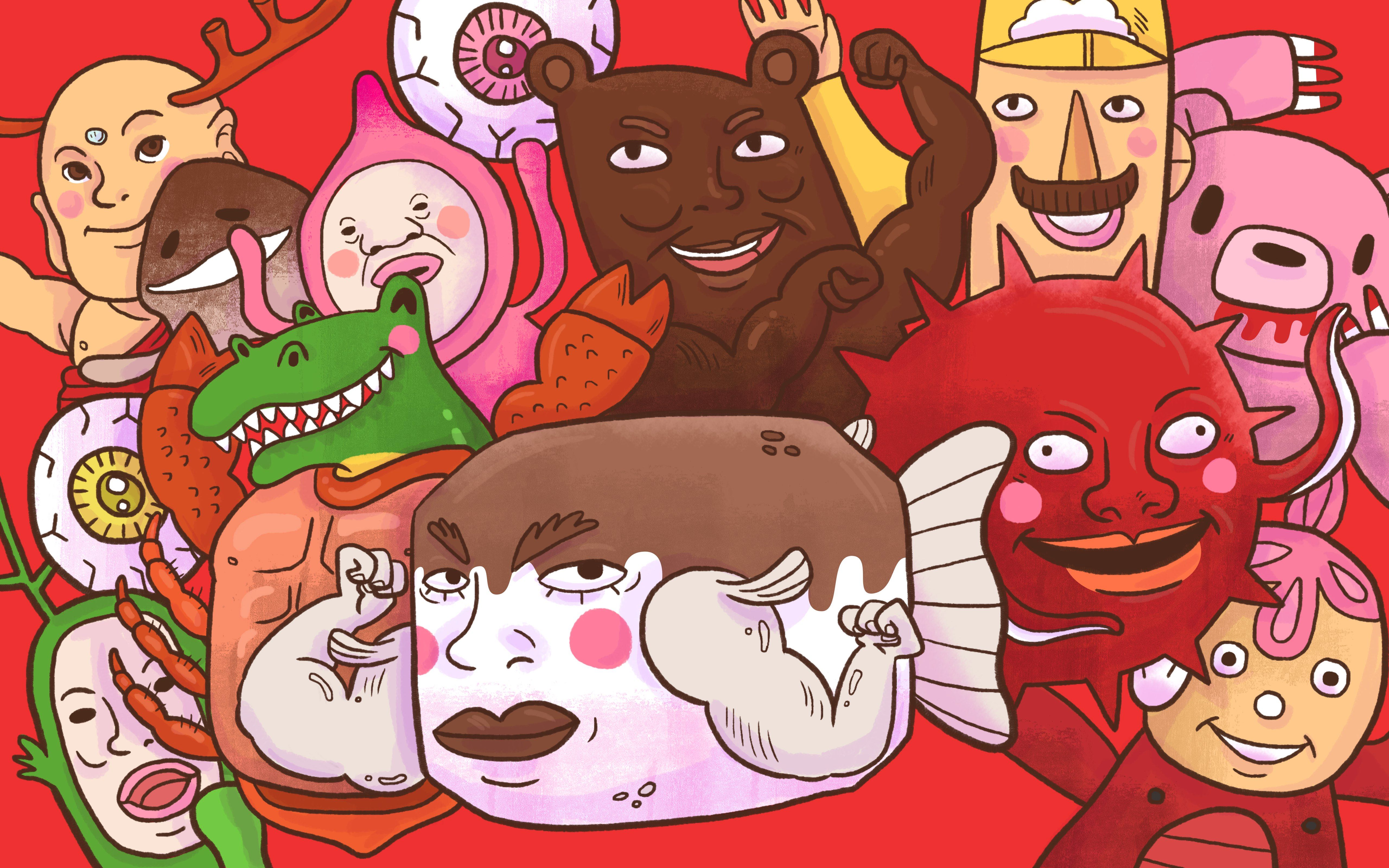 Image of: Anime Theres Tofugu Kimokawaii For Things That Are Both Cute And Gross