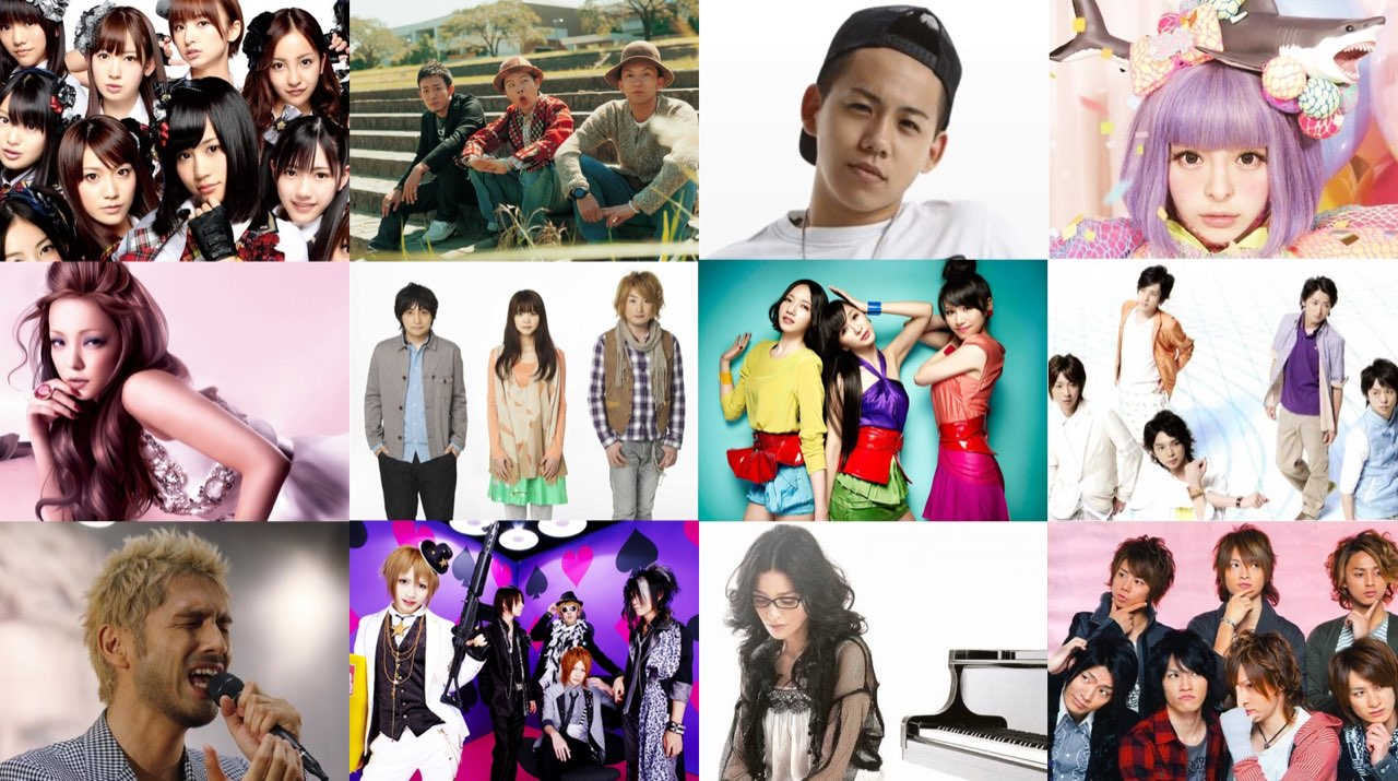 Rachels Top 10 J-Pop Artists-2018