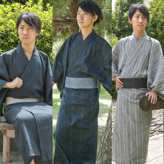 Some men in yukata