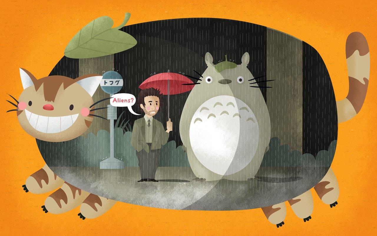 My Conspiracy Theory Nut Neighbor, Totoro