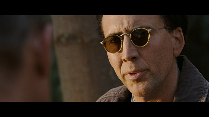 close up of Nicholas Cage from a movie