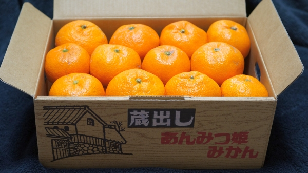 box of japanese oranges omiyage souvenirs