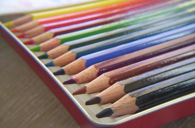 color in japan colored pencils