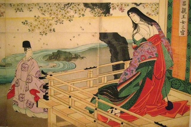 color in japan heian genki outfits